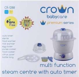 Crown Steam Sterilizer Multifunction With Timer CR 1288 GARANSI RESMI
