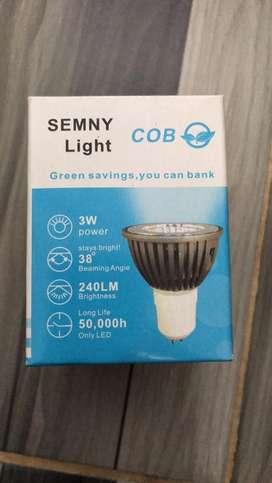 AB Lampu led sorot SEMNY 3watt.ada warna white&warm white
