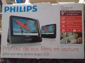 Philips LCD DVD player 2 in 1 size 9 inch