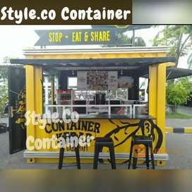 BIG SALE AWAL TAHUN | BOOTH CONTAINER CUSTOM | CONTAINER COFFEE SHOP |