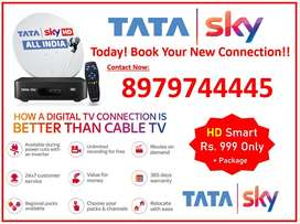 Tata sky Super Fast Network Airtel digital TV -719/- Only Full Install