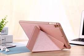Case Flip Cover Smart Ipad Mini 1 2 3 4 5 Book LOGFER  PINK Flip Cover