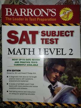 BORRON'S SAT 2 MATHS AND ENG UNTOUCHED