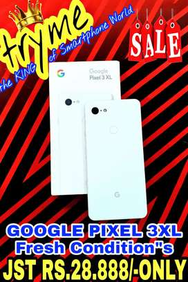 TRYME 3XL GOOGLE PIXELL, fUll Kit Box Fresh Conditions