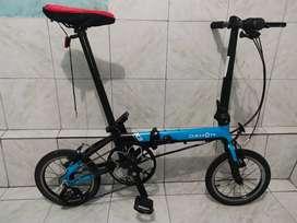 Sepeda lipat dahon K3model