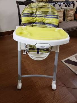 Baby High chair Graco Contempo USED