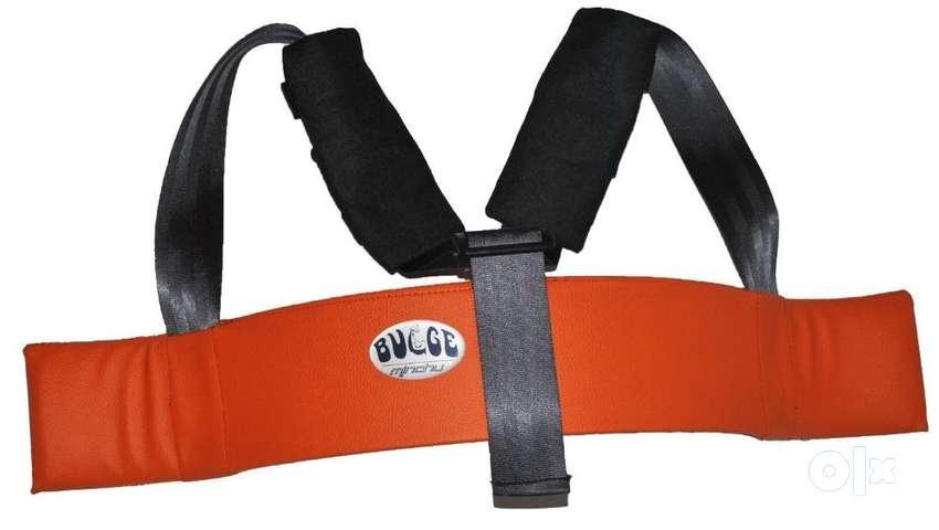 Minchu Bulge - Arm Blaster for Dumbbells & Barbell Rod 0