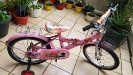Sepeda anak keranjang size 18