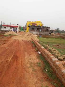 30ft yellow zone plot for sale back side of utkal hight