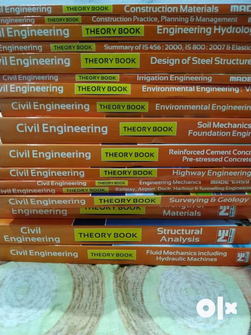 Civil Made Easy Books 2019 for Gate+ESE+PSU syllabus 0