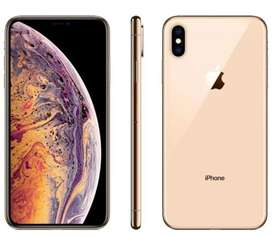 i phone xs max 64 gb gold