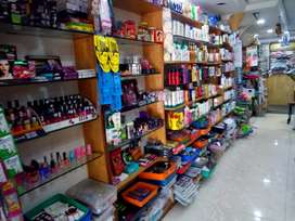 Running readymade shop nd fancy shop for sale