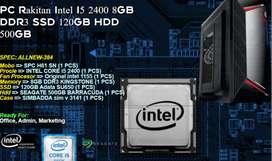 PC Rakitan Marketing Intel I5 2400 8GB DDR3 SSD