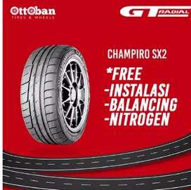 Ban mobil merk GT radial champiro SX2 195_50 R15 vios brio