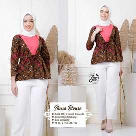 Blouse Batik Combi