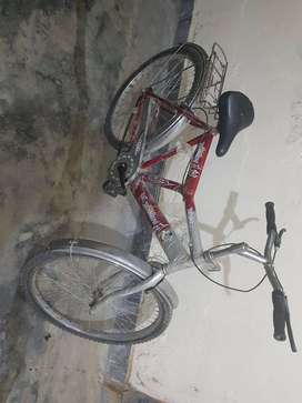 Bicycle.. having front back brakes