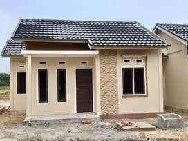 Rumah subsidi type 36/108 di jl Damai Palas Rumbai