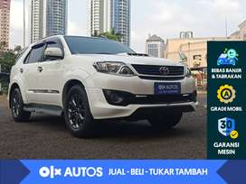 [OLX Autos] Toyota Fortuner 2.4 G Solar  A/T 2014 Putih