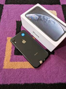 Iphone XR 64GB dual sim -black
