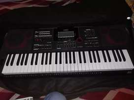 Casio keyboard,cover,stand also