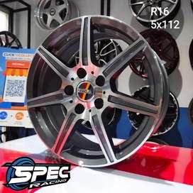 Velg mobil racing r16 merce rush di toko pelak spec r medan