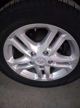 Rims and tyres for sale good condition