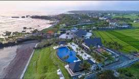 4 Bedroom Beach Front Villa Rent Monthly in Tanah Lot Bali - BVI24632