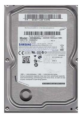 Samsung 500gb hard disk