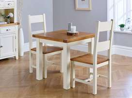 Beautiful Dining table for couple solid wood dining table