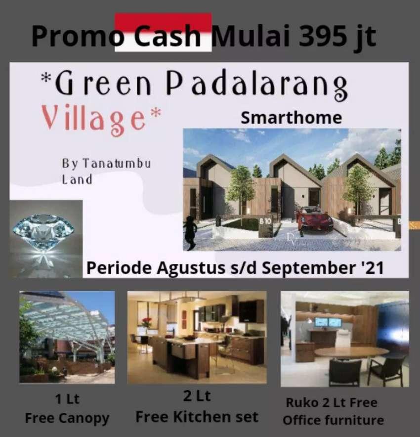 Rumah Villa Modern Smart Home Promo 395 JT, 10 menit ke Tol Padalarang
