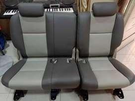 Jok Tengah mobil Innova (baru ganti kulit MBtech)