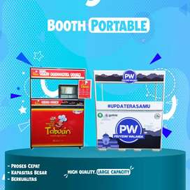 Gerobak Permanent // Booth Portable untuk usaha di rumah dan Event