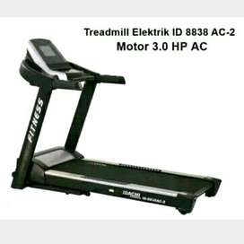 PROMO-Electrik treadmill ID-8838 AC2->>bisa COD (SOLO FITNESS CENTER)