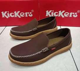 Sepatu Kickers wrn coklat,hitam