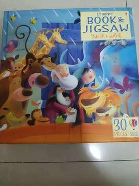 Usborne Noah's Ark 30 jigsaw puzzle & book