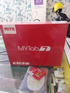 Tab mytab7 mito 3/32gb baru garansi bisa kredit atau TT