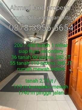 Rumah mewah dijual dalam kota Lamongan dekat alun alun