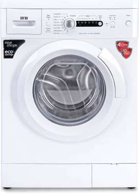 IFB 6 kg 2D Wash Fully Automatic Front Load with In-built Heater White