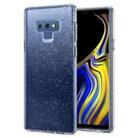 Galaxy Note 9 Gold Glitter Back Cover