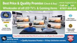 Led Tvs Smart/Plain/4k Uhd All Variants&GamingItem(Best Price&Quality)