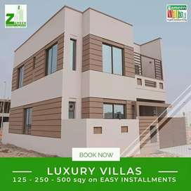 Book Your Luxuru Villa in just 25 Lac Remaining 1,2 Years Instalment