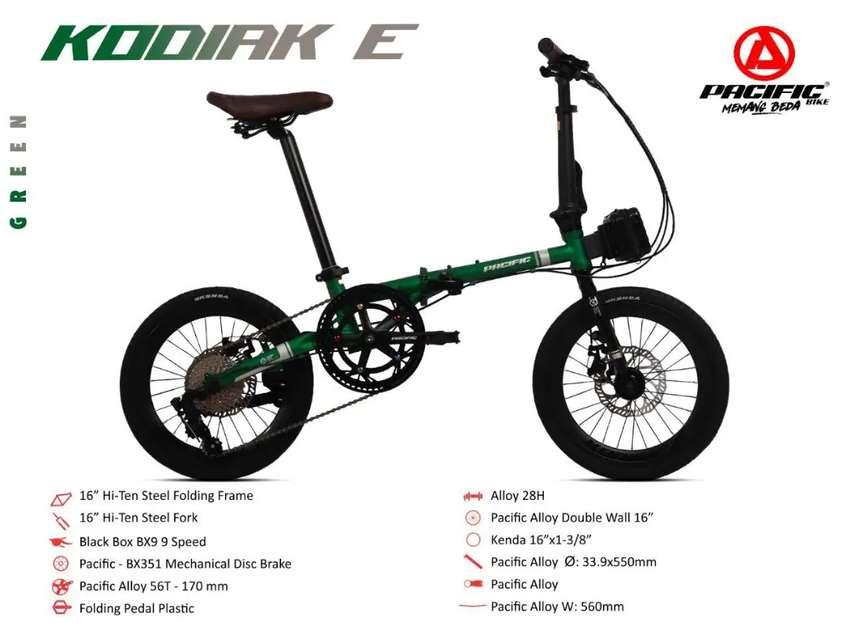 Sepeda lipat seli pacific kodiak e 0