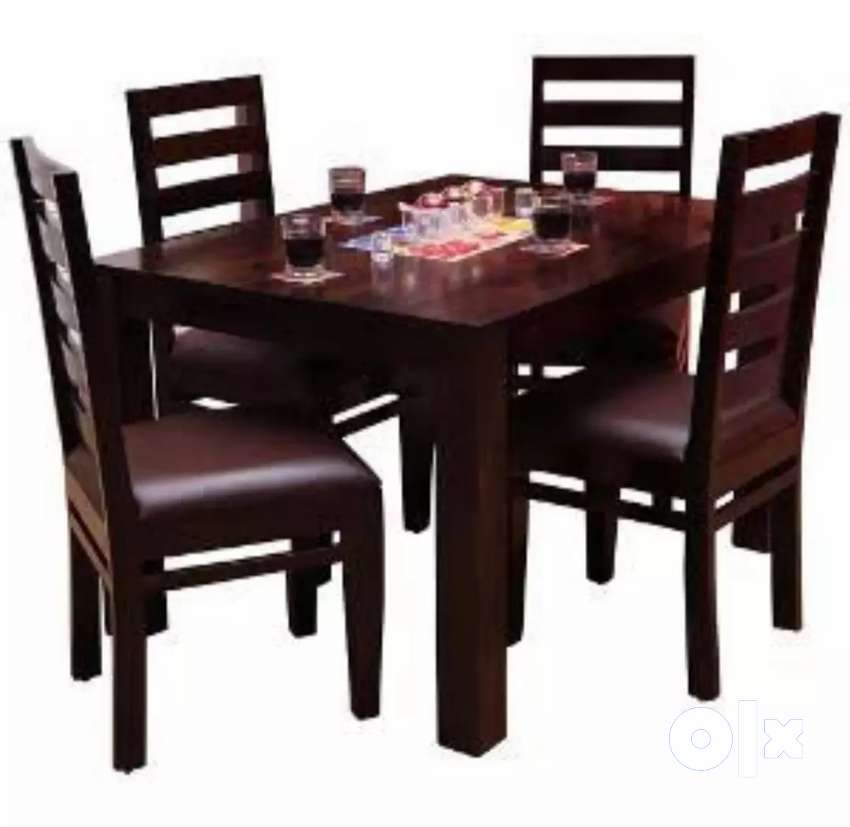 Modular Dinning table 4 chairs. REHAN FURNITURE 0