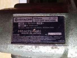 Mesin cut off/ Grinda Potong Hitachi Japan