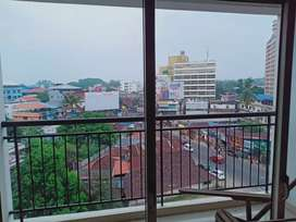 2.5BHK semi furnished flat for rent in Aluva bypass