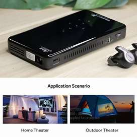 AUN MINI Projector X2, Optional 2G+16G Voice Control, Android 7.1 WIFI
