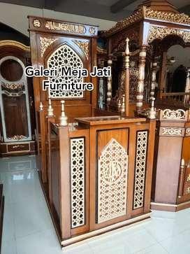 Mimbar masjid podium kubah New J370 kode