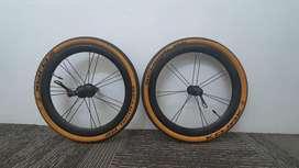 DIJUAL CEPAT! Luce Wheelset Jumphole 16 349 Quick Release+