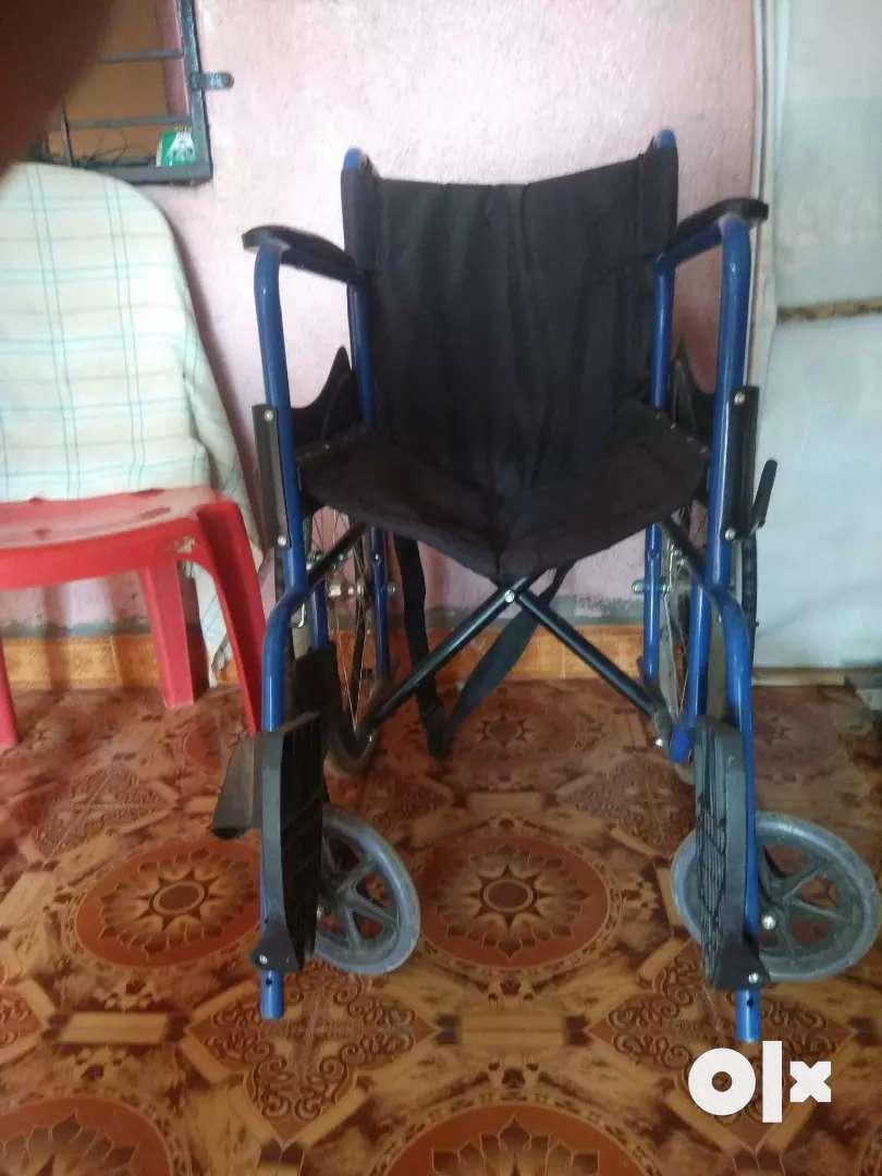Best wheelchair in blue colour  in best condition 0