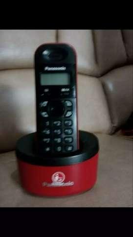 Dijual telepon wireless Panasonic  KX-TG 1311 CX. Murah & bergaransi.